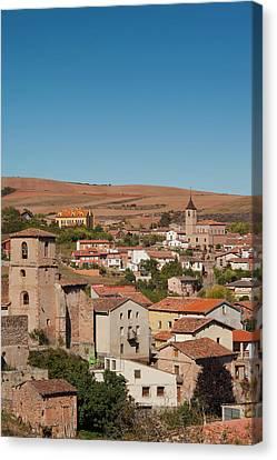 Spain, La Rioja Region, La Rioja Canvas Print by Walter Bibikow