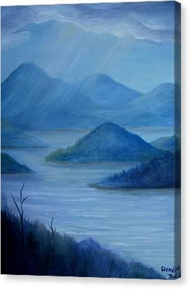 Sunshine After The Rain Canvas Print by Glenda Barrett