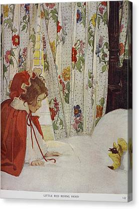 The Now-a-days Fairy Book Canvas Print by British Library