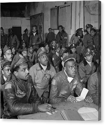 Tuskegee Airmen, 1945 Canvas Print by Granger