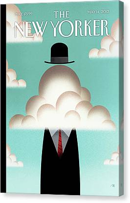 Untitled Canvas Print by Bob Staake