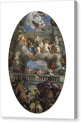 Veronese, Paolo Caliari, Called Paolo Canvas Print by Everett