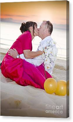 Wedding Kiss Canvas Print by Jorgo Photography - Wall Art Gallery