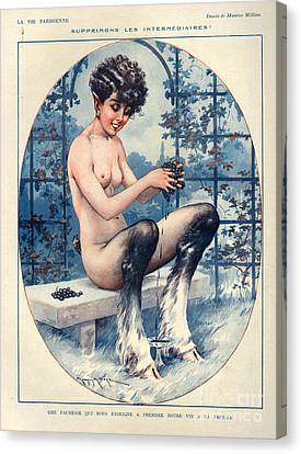 1920s France La Vie Parisienne Canvas Print by The Advertising Archives