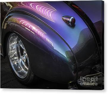 40 Chevy Of Changing Colors Canvas Print by Chuck Re