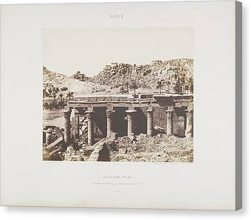 Photograph Of The Egyptian Landscape Canvas Print by British Library