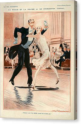 1920s France La Vie Parisienne Canvas Print by The Advertising Archives