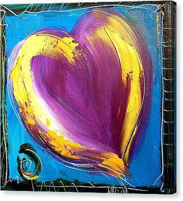Heart Canvas Print by Mark Kazav