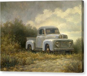 48 Ford Pickup Canvas Print by Paul Abrams