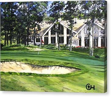 4th Andrew Hudson Memorial Golf Tournament Canvas Print by Kevin F Heuman