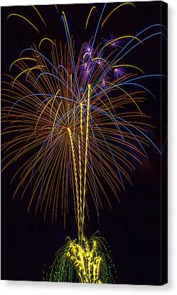 4th July #14 Canvas Print by Diana Powell
