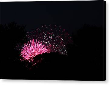 4th Of July Fireworks - 011328 Canvas Print by DC Photographer