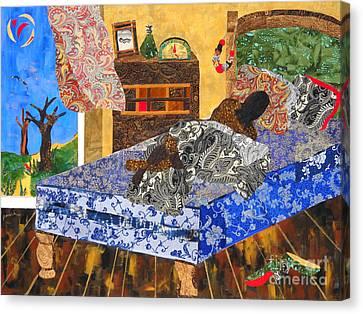 5 Am Canvas Print by Paula Drysdale Frazell