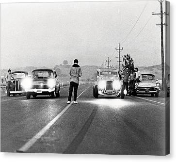 American Graffiti  Canvas Print by Silver Screen