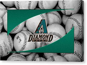 Arizona Diamondbacks Canvas Print by Joe Hamilton