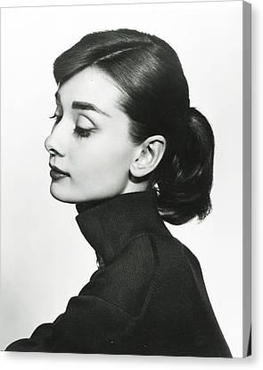 Audrey Hepburn Canvas Print by Retro Images Archive