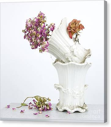 Bouquet Canvas Print by Bernard Jaubert
