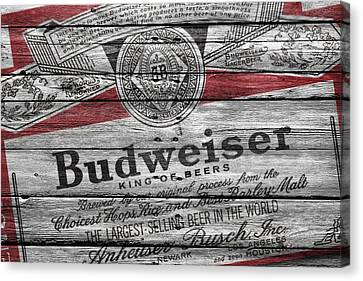 Budweiser Canvas Print by Joe Hamilton