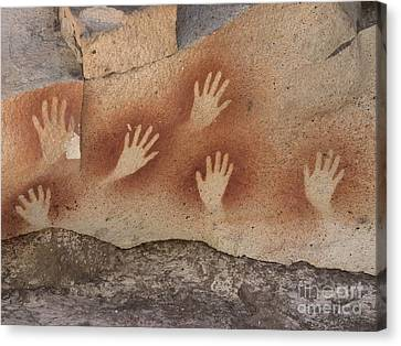 Cave Of The Hands Argentina Canvas Print by Javier Trueba MSF SPL