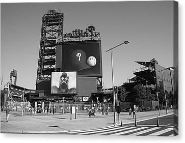 Citizens Bank Park - Philadelphia Phillies Canvas Print by Frank Romeo
