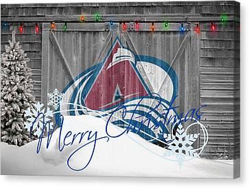 Colorado Avalanche Canvas Print by Joe Hamilton