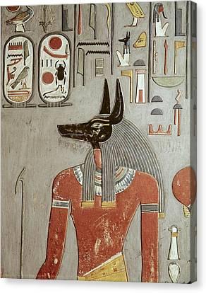 Egypt. Dayr Al-bahri. Valley Canvas Print by Everett