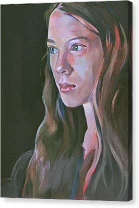 Isadora Canvas Print by Julie Orsini Shakher