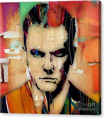 James Cagney Collection Canvas Print by Marvin Blaine