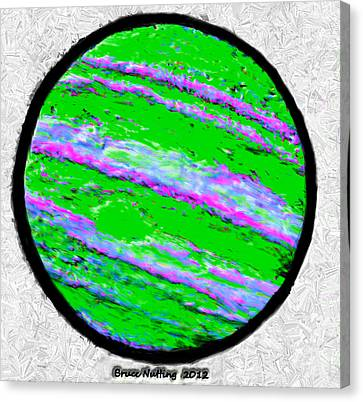 Jupiter In Many Colors Canvas Print by Bruce Nutting