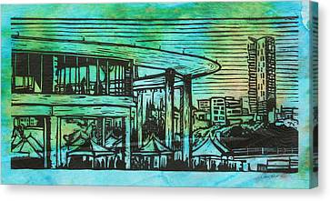 Long Center Canvas Print by William Cauthern