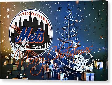 New York Mets Canvas Print by Joe Hamilton