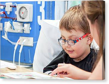 Paediatric Dialysis Department Canvas Print by Life In View