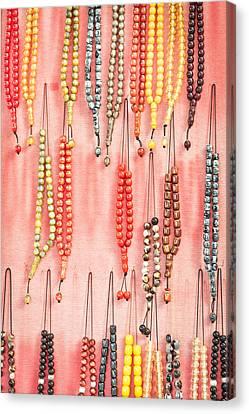 Prayer Beads Canvas Print by Tom Gowanlock