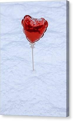 Red Balloon Canvas Print by Joana Kruse