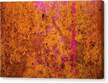 Rust And Metal Series Canvas Print by Mark Weaver