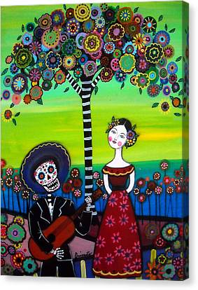 Serenata Canvas Print by Pristine Cartera Turkus
