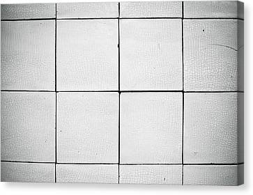Tiles Canvas Print by Tom Gowanlock