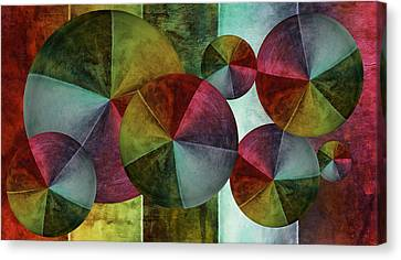 5 Wind Worlds Canvas Print by Angelina Vick