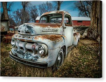 51 Ford F1 Pick-up Canvas Print by YoPedro