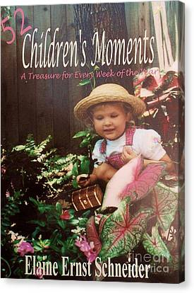 52 Children's Moments - Book Cover Canvas Print by Eloise Schneider