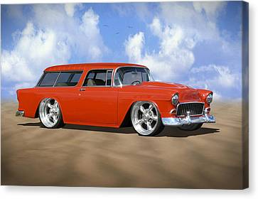 55 Nomad Canvas Print by Mike McGlothlen