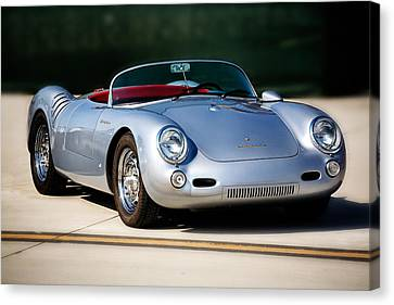 550 Spyder Canvas Print by Peter Tellone