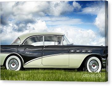56 Buick Century Riviera Hdr Canvas Print by Tim Gainey