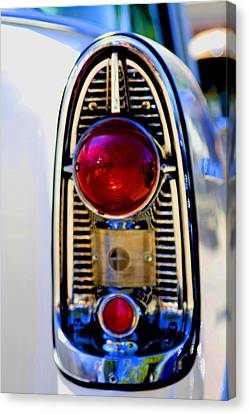 56 Chevy Tail Canvas Print by Terry Thomas
