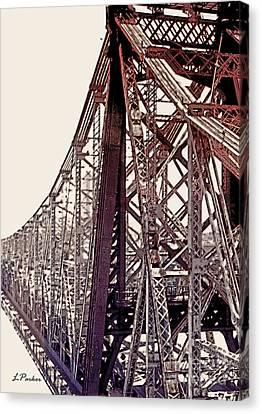 59th Street Bridge - Nyc Canvas Print by Linda  Parker