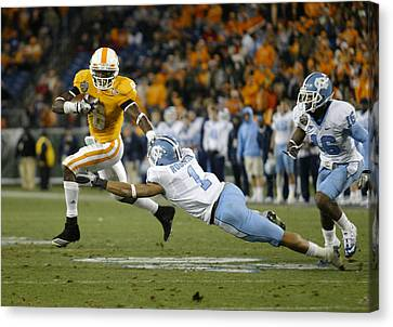 2010 Music City Bowl Canvas Print by Don Olea