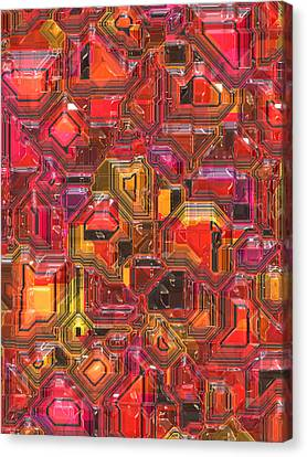 003 Abstract  Canvas Print by Mark Brooks
