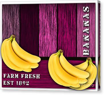 Bananas Canvas Print by Marvin Blaine