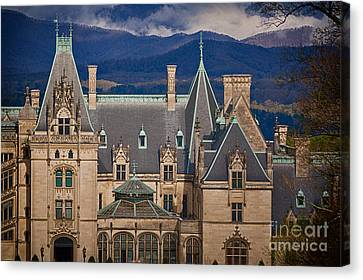 Biltmore Estate  Canvas Print by Doug Sturgess