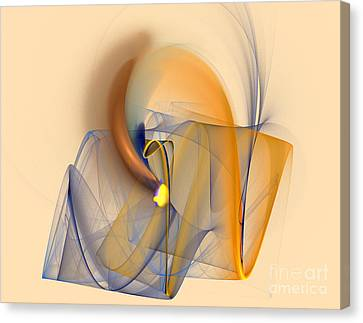 Colorful Abstract Canvas Print by Odon Czintos